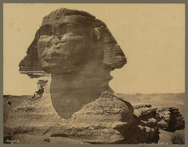 [The Sphinx] / Bonfils.