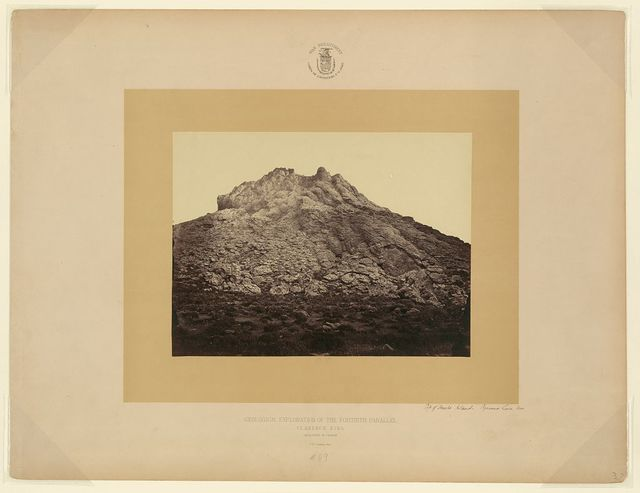 Top of Anaho Island Pyramid Lake, Nev. / T. H. O'Sullivan, phot.