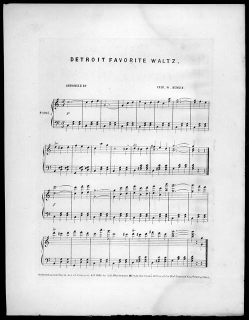 Detroit favorite waltz