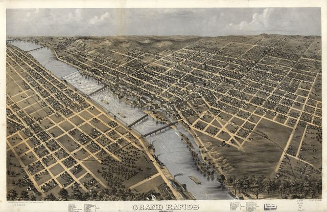 Grand Rapids, Michigan 1868.