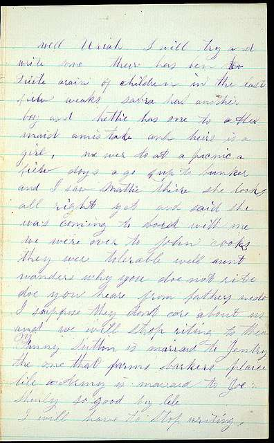Letter from Sarah A. Murray and Jacob H. Murray to Uriah W. Oblinger, September 6, 1868