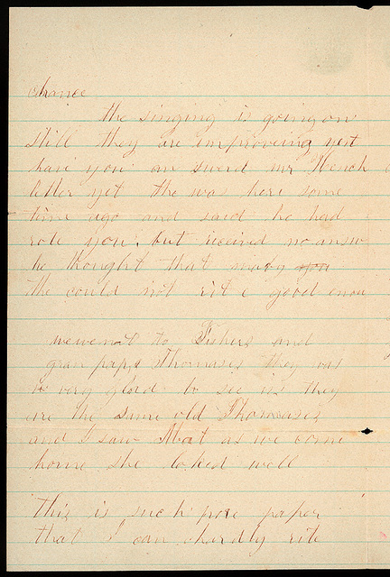 Letter from Sarah A. Murray to Uriah W. Oblinger, July 5, 1868