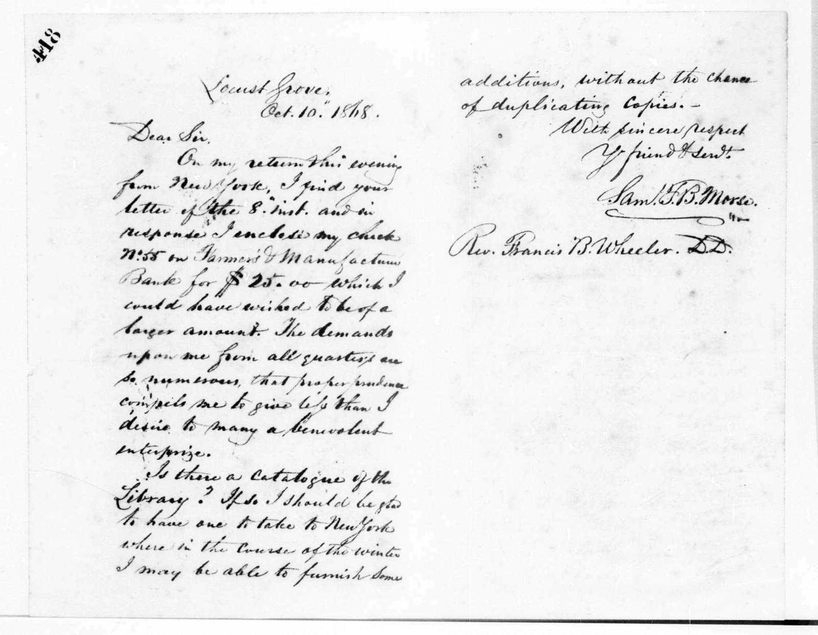 Letterbook---24 February-21 November 1868