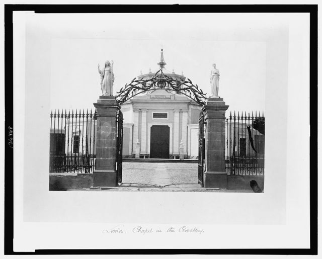 Lima. Chapel in the Cemetery