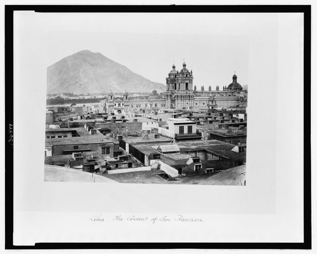 Lima. The Convent of San Francisco