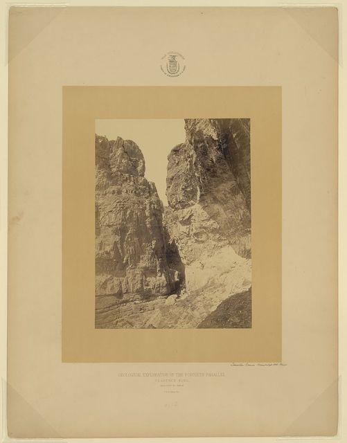 Limestone Cañon, Humboldt Mts., Nevada / T. H. O'Sullivan, phot.