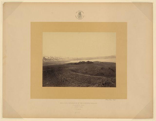 Mono Lake, Cal. / T. H. O'Sullivan, phot.