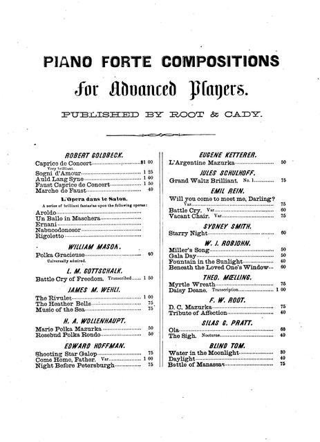 Northmen, awake: quartette & chorus words by S  Fillmore