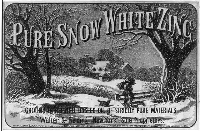 [Pure White Snow Zinc]