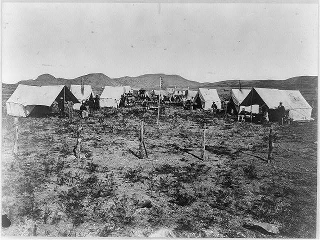 Survey Camp, Salt Lake City / T. H. O'Sullivan, phot.