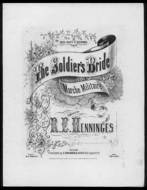 The  Soldier's bride, marche militaire