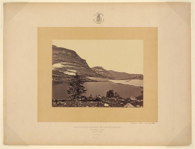 Upland Lake, Humboldt Mts. / T. H. O'Sullivan, phot.