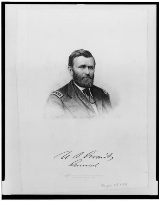 [U.S. Grant--General] / engraved by J.C. Buttre.