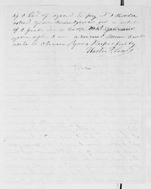 Alexander Hamilton Stephens Papers: General Correspondence, 1784-1886; 1869, Oct. 16-Dec. 31
