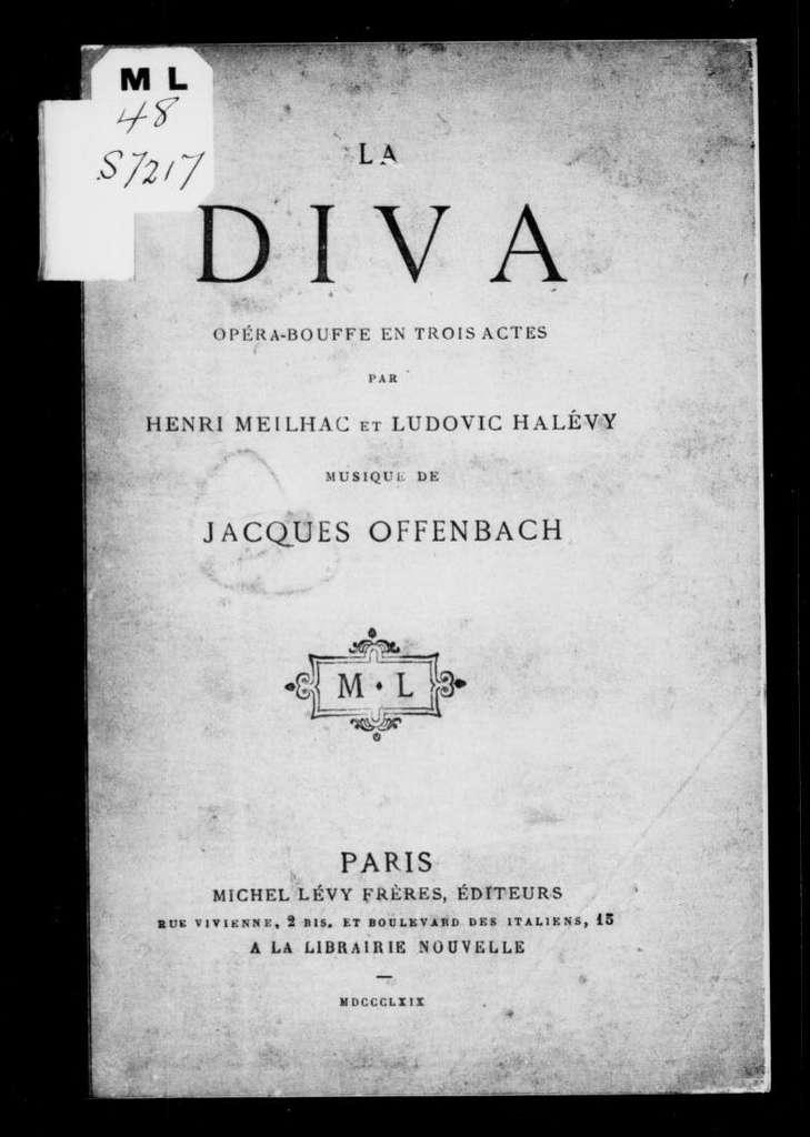 Diva. Libretto. French