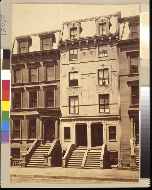 [J.Q.A. Ward houses, 7 and 9 West 49th Street, New York City]