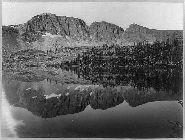 [Lake Lall, Uinta Mountains, Utah] / T. H. O'Sullivan, phot.