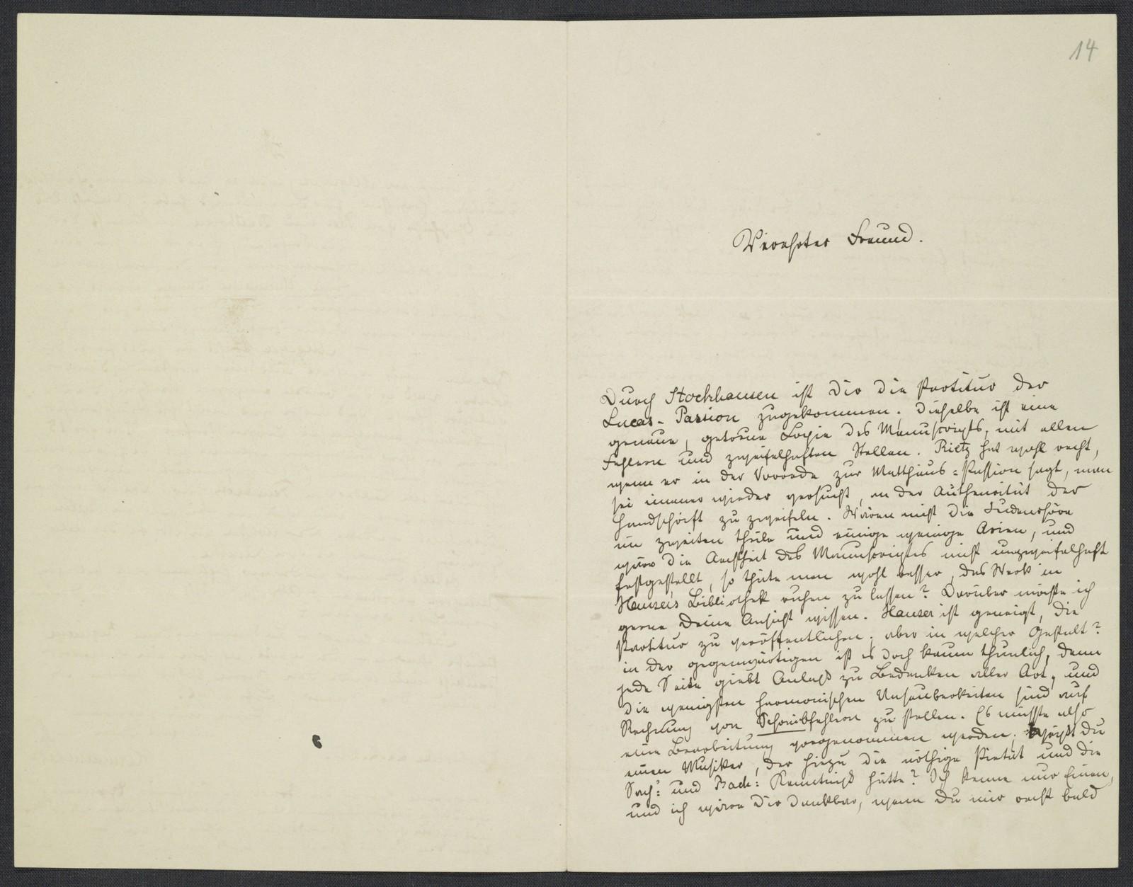 [Letter, 1869 Feb.] 22, Carlsruhe [to Brahms]
