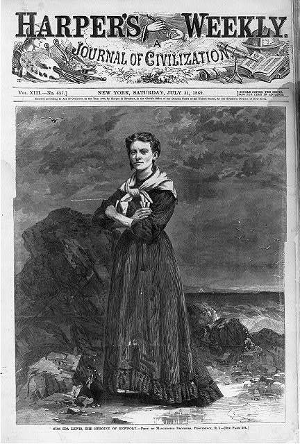 Miss Ida Lewis, the heroine of Newport / photo by Manchester Bros., Providence, R.I.