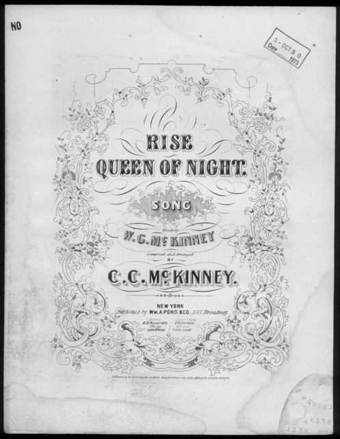 Rise queen of night