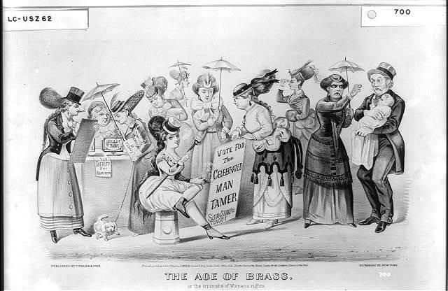 The age of brass: Or the triumphs of woman's rights