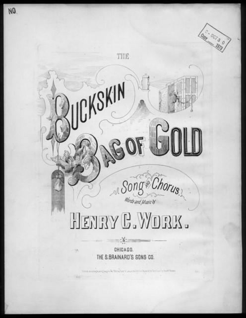 The  buckskin bag of gold