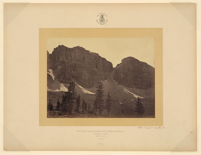 Uinta Summit head Bear R. [Wyoming] / T. H. O'Sullivan, phot.