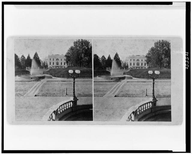 [White House from the east (Treasury Building)]