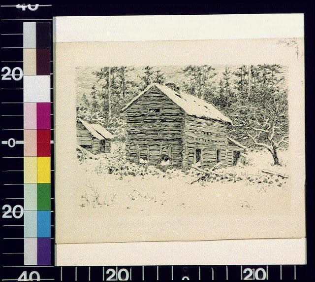 Abandoned farm house, Monroe County, Pa.