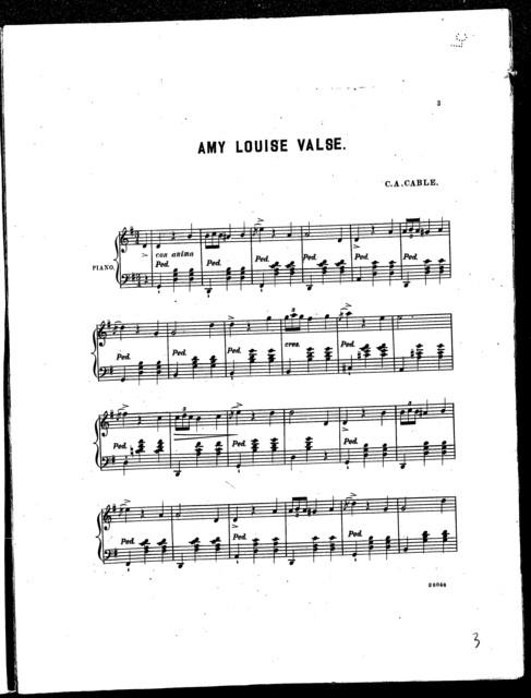 Amy Louise Valse