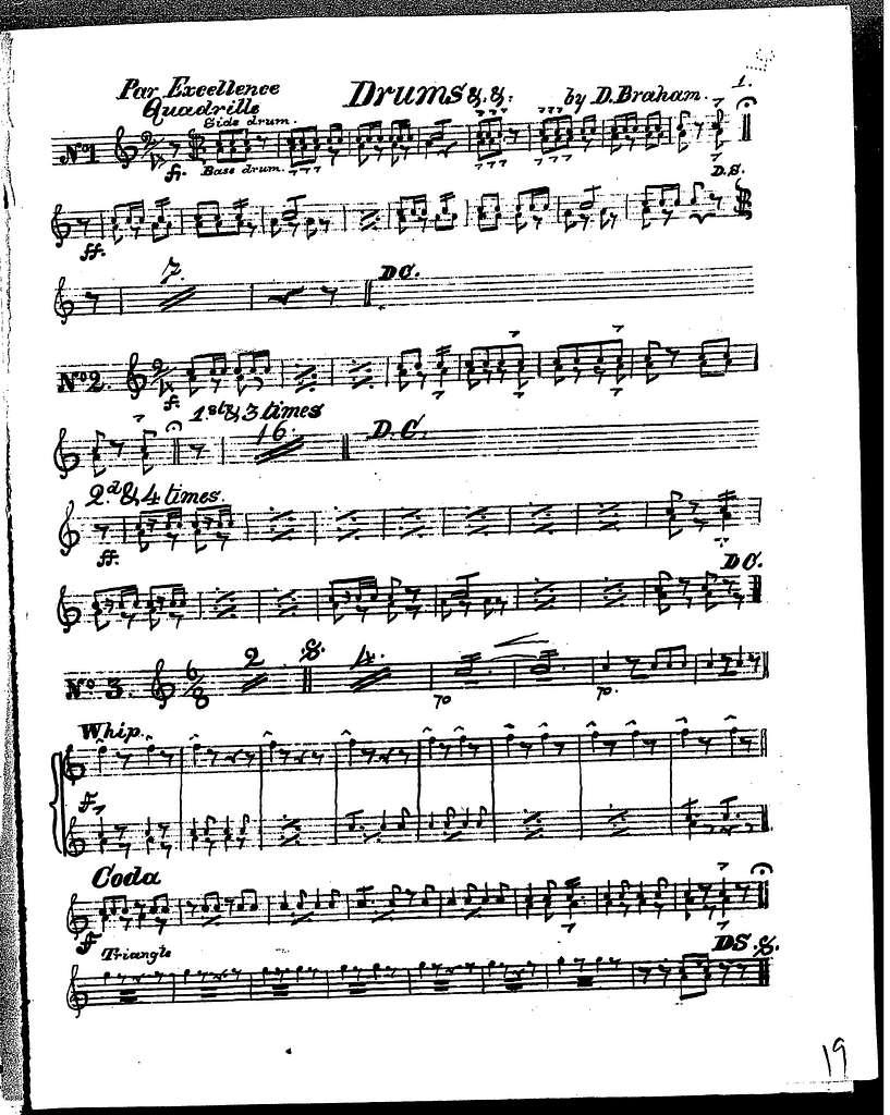 Band master's repertoire