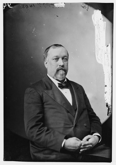 Bristow, Gen. B.H., Secty of Treasury, Grant Amin (not in uniform)