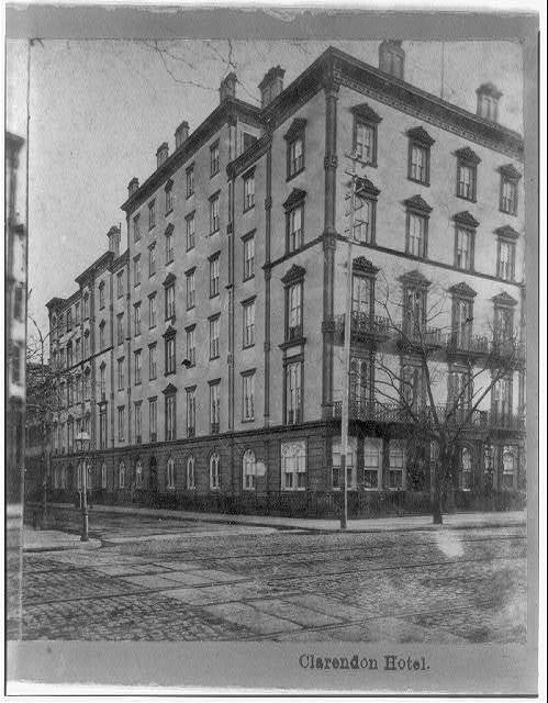 Clarendon Hotel, 4th Ave. 18th St., New York City