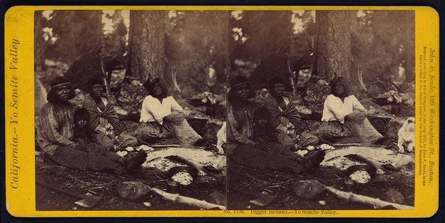 Digger Indians, Yo Semite Valley
