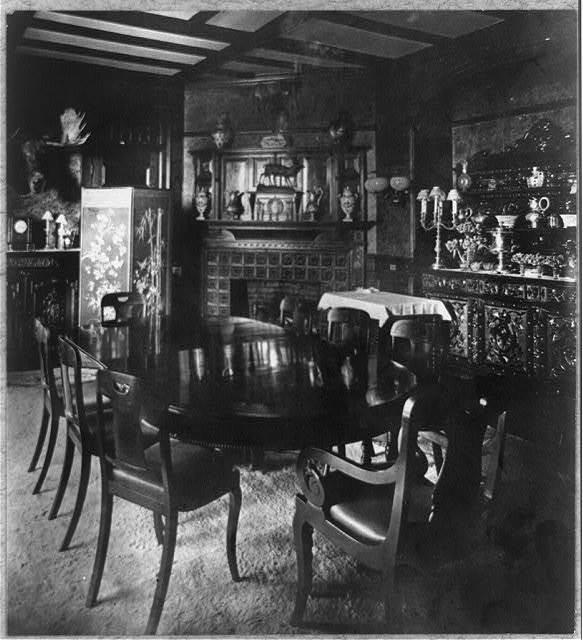 [Dining room at Sagamore Hill]