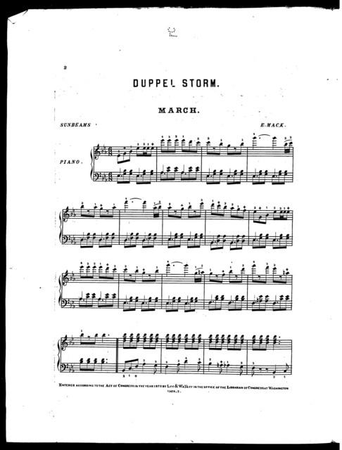 Dupppel Storm March