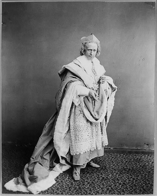 [Edwin Booth as Richelieu, Act 4]