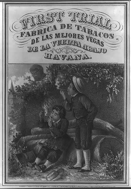 First Trial - Fabrica de Tabacos De las Mejores Vegas de la Vuelta Abajo, Havana.