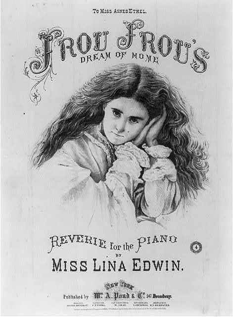 Frou Frou's Dream of Home, by Miss Lina Edwin
