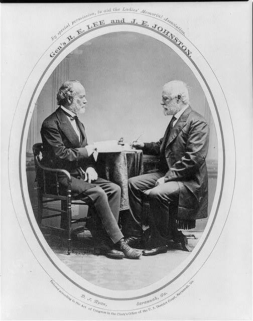 Gen's. R.E. Lee and J.E. Johnston / D.J. Ryan, Savannah, Ga.