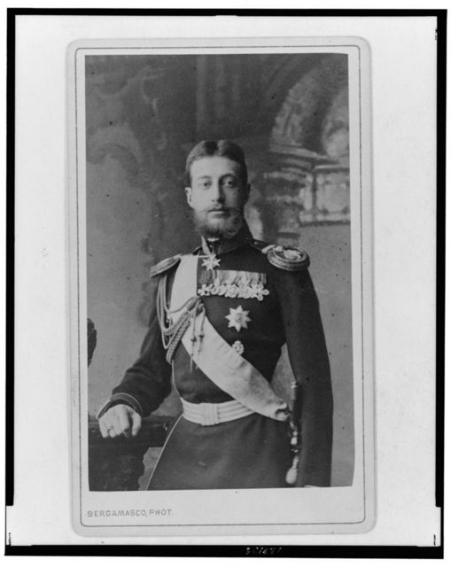 [Grand Duke Konstantin Konstantinovich, three-quarter length portrait, facing slightly left]