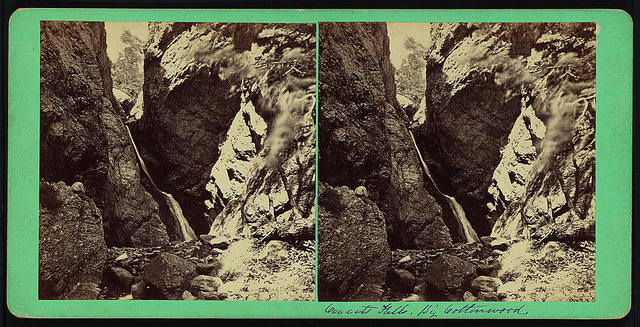 [Hidden Falls, Big Cottonwood Canyon, Wasatch Mountains]