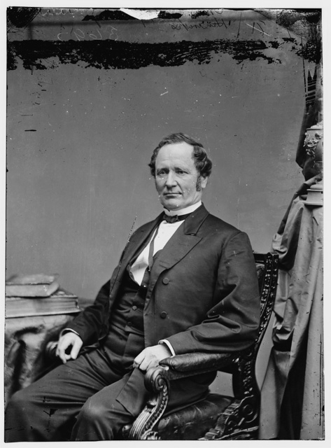 Hon. Thos. A. Hendricks of Ohio, Vice President under Cleveland