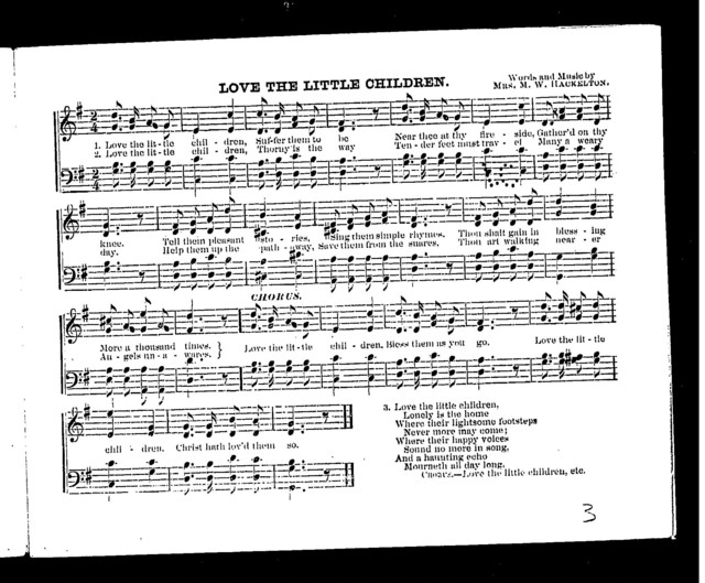 Hymns for the sabbath school