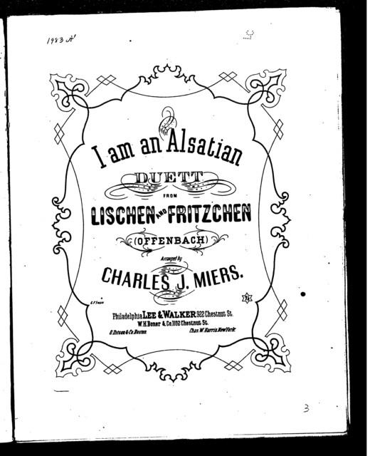 I am an Alsatian