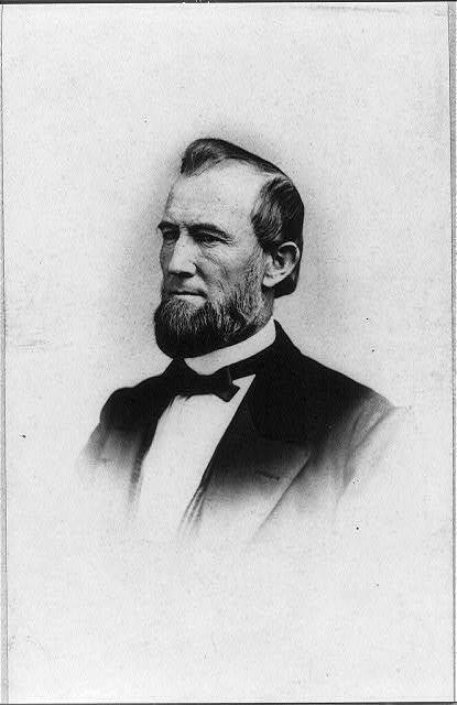 [James Buchanan Eads, engineer and inventor of ironclad warships, head-and-shoulders portrait, facing left] / Williams & Cornwell.