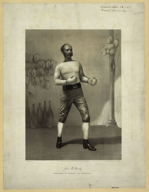 John B. Bailey, professor of sparring and gymnastics