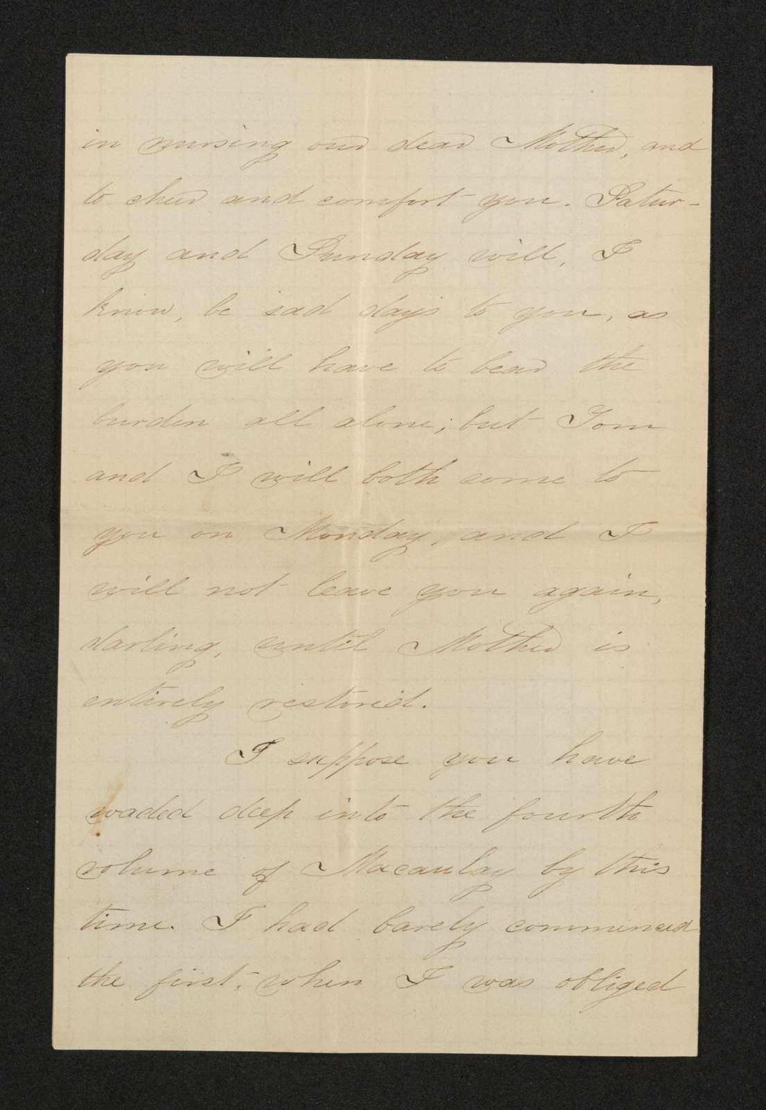 Lewis H. Machen Family Papers: Gresham Family Correspondence, 1834-1925; 1870