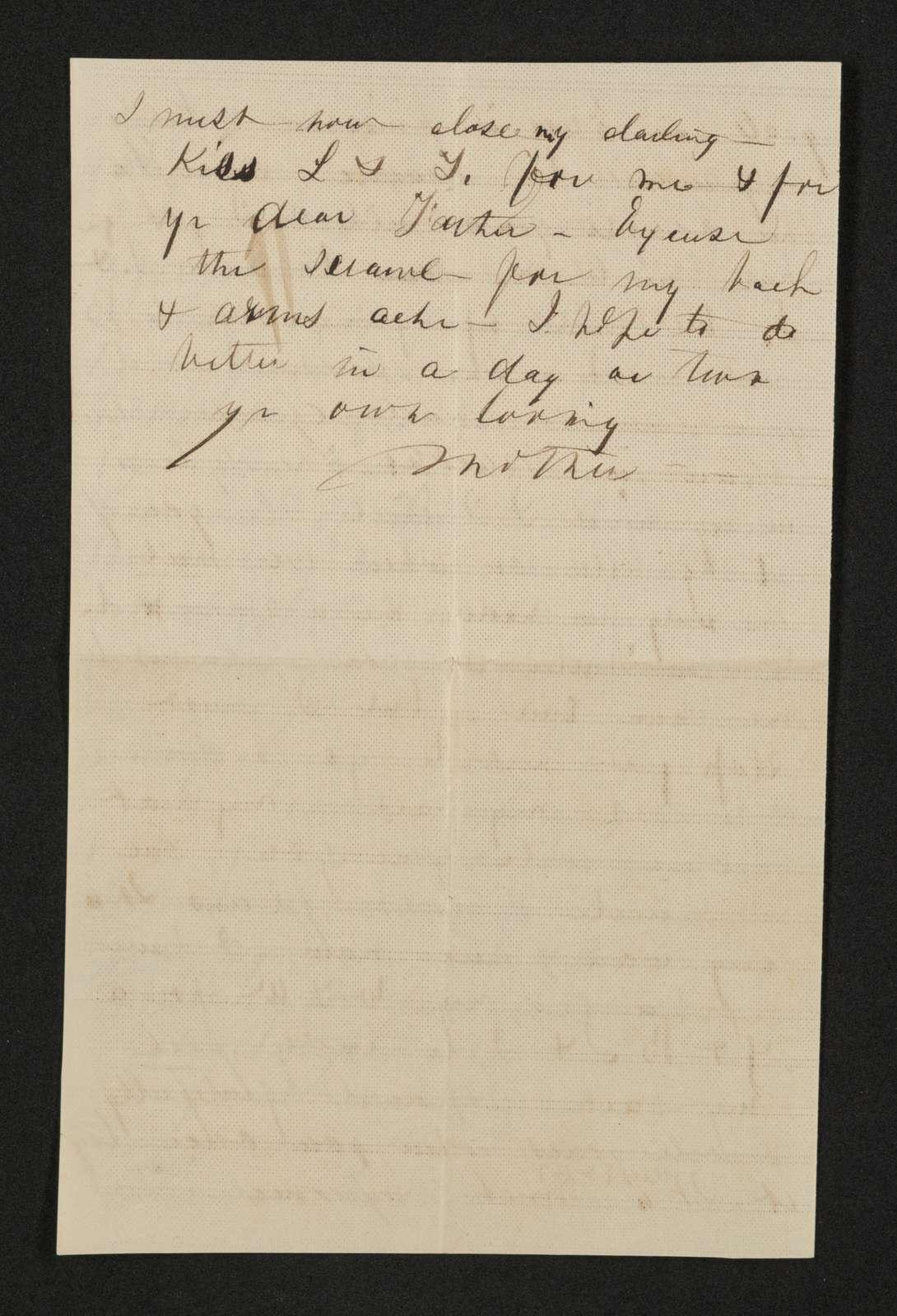 Lewis H. Machen Family Papers: Gresham Family Correspondence, 1834-1925; 1870
