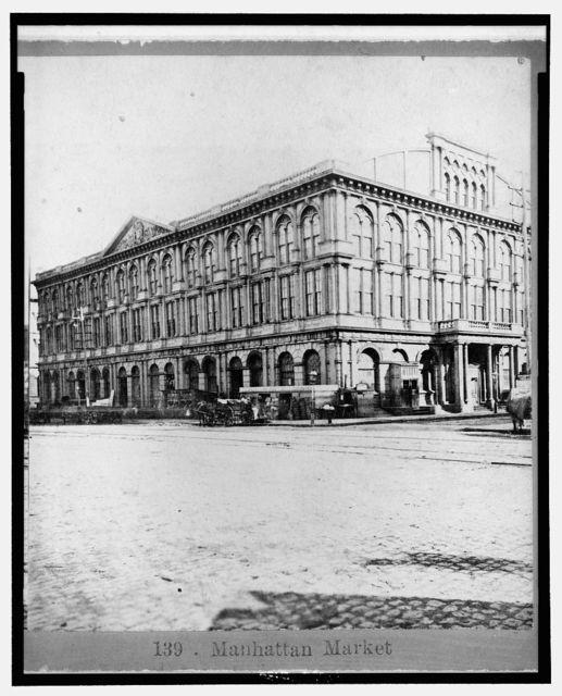 Manhattan Market, [New York City, ca. 187-]